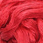 Mulberry silke garn her i fargen 17-1656
