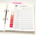 Duke silkegarn katalog fargekart