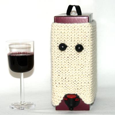 Gratis strikkeoppskrift på vinkappe