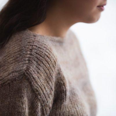 Strikkedåpen – den første genseren
