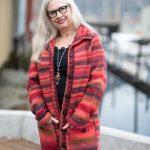 enkel-strikket-damejakke-i-drops-big-delight- garnpakke -enkel damejakke strikkeoppskrift