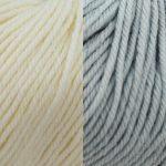 Kremke Bebe soft wash. Her i fargene 01 natur og 07 babyblå.