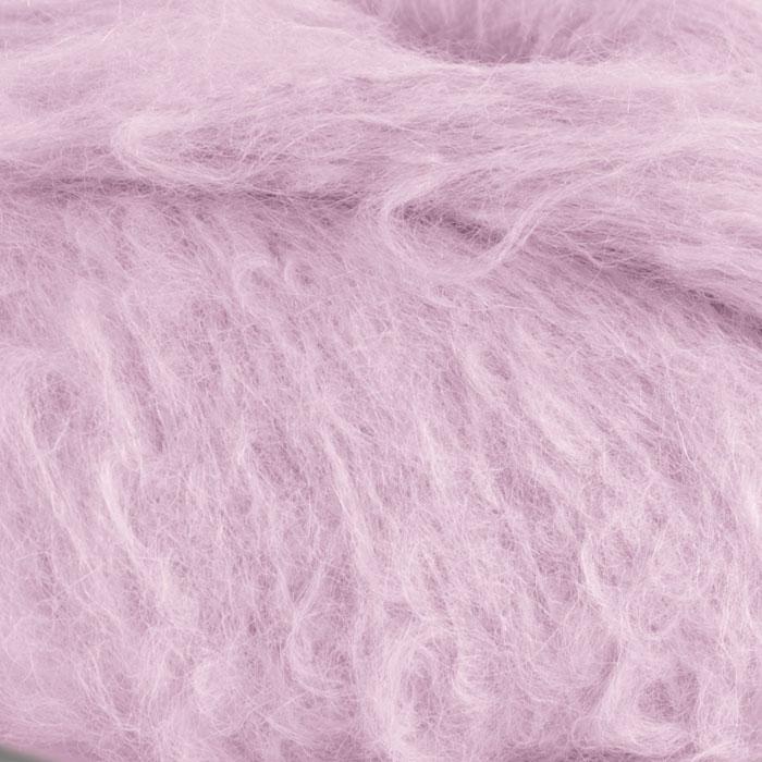 Strikkegarnet Fnugg fra Camilla Pihl her i fargen 909 perlerosa