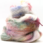 Fluffy mohair gradient fra Cowgirl blues i fargen 18 Signs of spring her i fargen 14 Tambourine Man