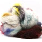Fluffy mohair gradient fra Cowgirl blues i fargen 18 Cape carnival
