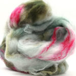 Fluffy mohair gradient fra Cowgirl blues i fargen 18 Signs of spring