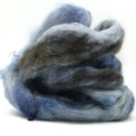 Fluffy mohair gradient fra Cowgirl blues her i fargen 20 Moody Blues
