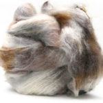 Fluffy mohair gradient fra Cowgirl blues i fargen 22 Writing in the sand