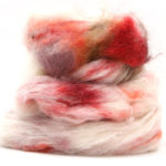 Fluffy mohair gradient fra Cowgirl blues i fargen 23 Peaches and cream
