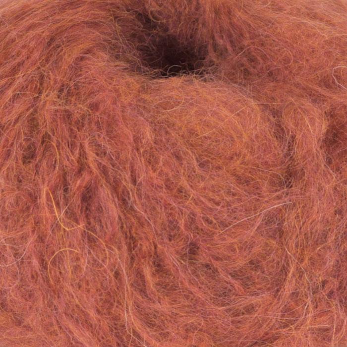 Fnugg garn fra Camilla Pihl i fargen 927 Chilirød melert