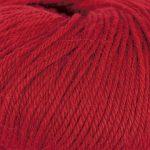 Strikkegarn Sterk fra Du store alpakka. Her i fargen 828-rød.