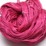 Mulberry silke garn her i fargen 19-2033