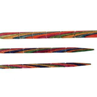 3 flettepinner i bjørk