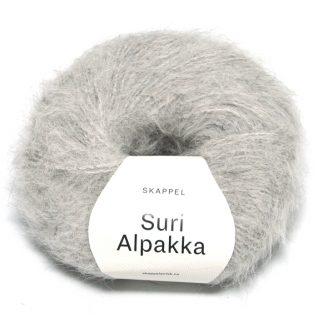 Skappel garnet Suri Alpakka i fargen 102 gråmelert