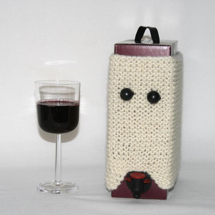 Strikkeoppskrift-snu kappen etter vinen