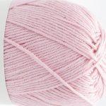 Kremke garn Summer in kashmir farge 02 lys rosa.