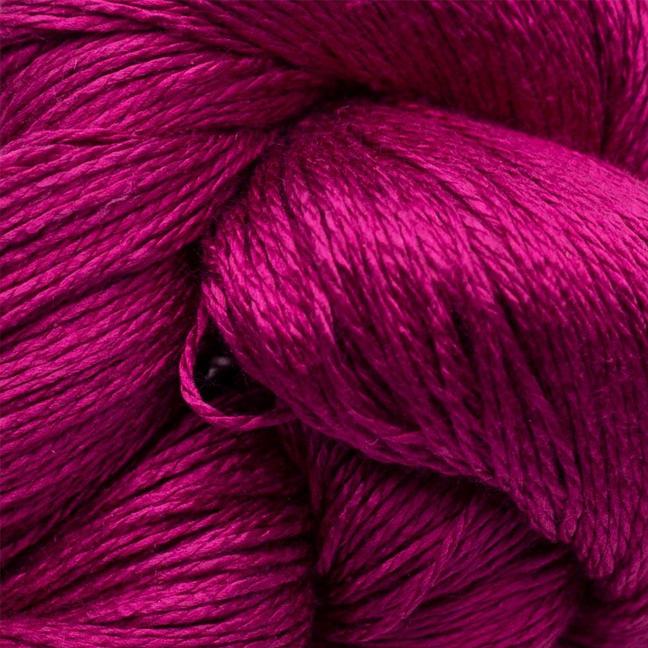 BC garn Jaipur silk fino her i fargen 55 cyklamen
