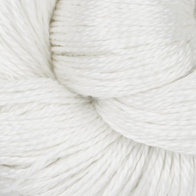 BC garn Jaipur silk fino her i fargen 60 snøhvit.