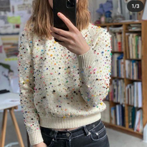 The carpe diem sweater av Lærke Bagger