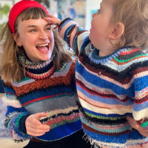 The no limits sweater av Lærke Bagger
